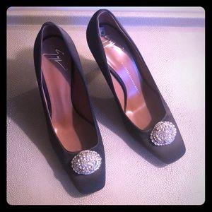 Gorgeous Giuseppe Zanotti Satin Heels